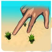 Finger desert run