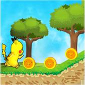 Run Pikachu Run : pika Jungle Adventures 1.0