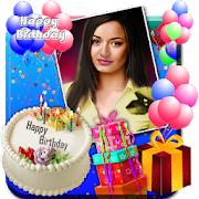 Birthday Greeting Cards Maker: photo frames, cakes 1.0.37