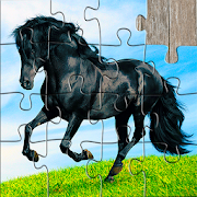 Horse Jigsaw Puzzles Game - For Kids & Adults 🐴 22.0