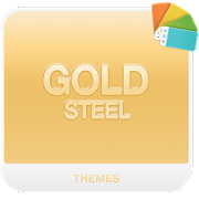 GOLD STEEL Xperia Theme 1.2.0
