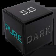 Pure Dark 5.0 EMUI 5/8 Theme 1.9