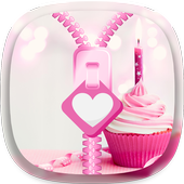 Cupcakes Zipper Lock Screen 1.1