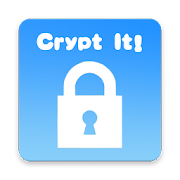 Crypt it! - for text encryption & decryption