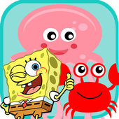 Spongy Hunter and Jellyfish Under Sea 3.0