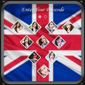 UK Flag Lock Screen 1.1