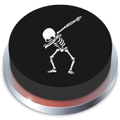 Spooky Scary Skeletons Button 3.0