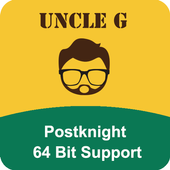 Uncle G 64bit plugin for Postknight 2.0.28.1115