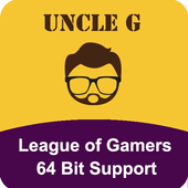 Uncle G 64bit plugin for League of Gamers