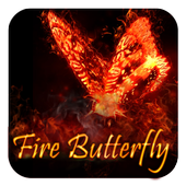 Butterfly and Fire Theme