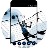 Sports Girl HD Live Wallpaper for Huawei Theme