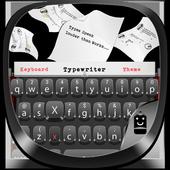 Black Typewriter Keyboard 4.5