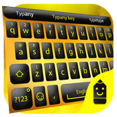 Yellow Black Typany Keyboard 4.5