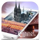 Classical Cologne Cathedral Theme&Emoji Keyboard 4.5