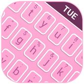 Mood Themes for Tuesday Lucky Pink Theme Keyboard 4.3