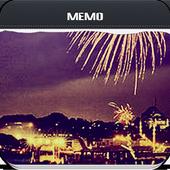 Bright Fireworks Memo 1.0