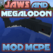 Jaws and Megalodon MOD MCPE 4.0
