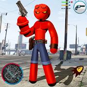Hellboy Stickman Rope Hero Strange Gangster Vegas 1.0