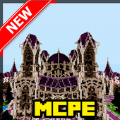 The Battle of Magic Factions. PvP Map for MCPE 1.30.4.7