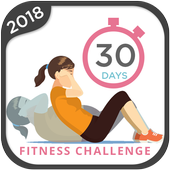 30 Day Fitness Challenge - Workout at Home 1.0