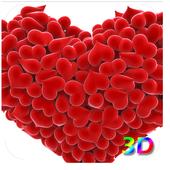 3D Heart Live Wallpaper 1.2