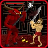 Escape The Monster Maze Free Minotaur Action Game Apk - roblox monster maze game
