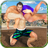 Kabaddi WWE Fighting