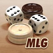 MLG.BackgammonMobiLiveGamesBoard