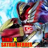 New Bima X Satria Heroes Hint 1.0
