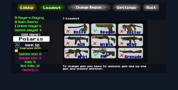 Combat Pixel Arena 3D - Fury Man 1.4 screenshot 21