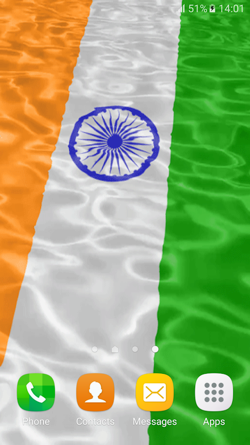 3d Indian Flag Live Wallpaper 10 Apk Download Android
