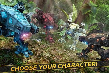 Dino-Robot! Future War 3D Game 1.0.0 screenshot 3