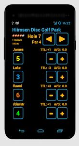 Disc Caddy 2 - Disc Golf app  screenshot 3