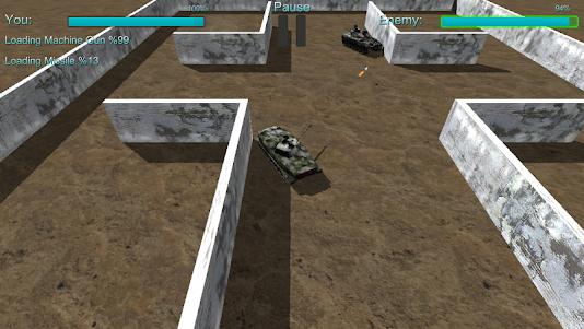 AR Tank Fight 1.1 screenshot 3