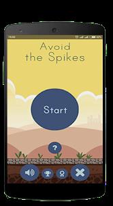 Avoid The Spikes 1.1 screenshot 1