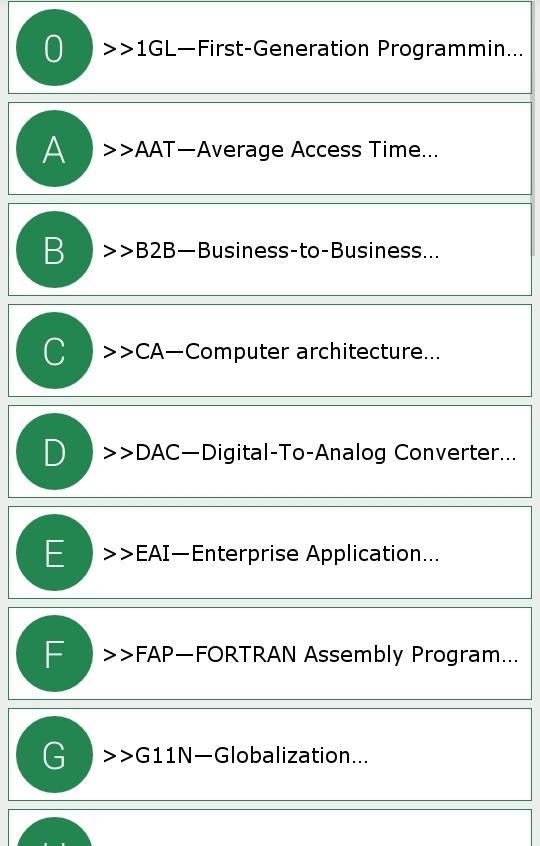 Computer And IT Abbreviations 10 Screenshot 8
