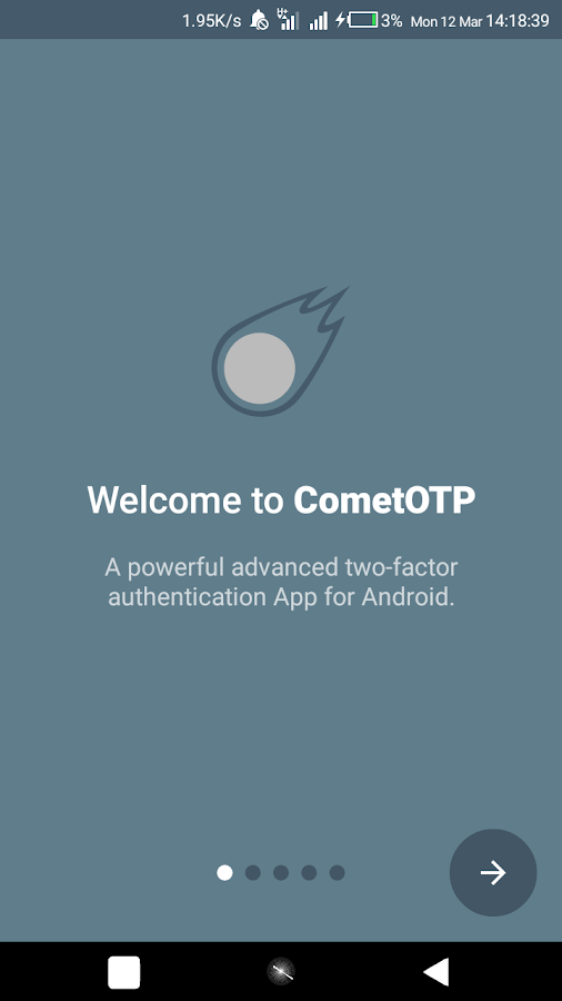 CometOTP - OTP Authenticator for Android 4 0 0-alpha02 APK Download