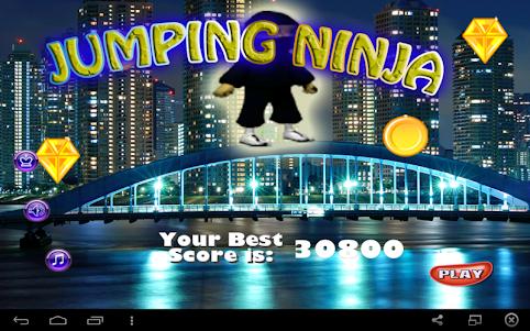 Jumping Ninja 1.0 screenshot 1