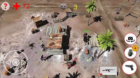 Shooting Zombies Free Game 1.0 screenshot 1