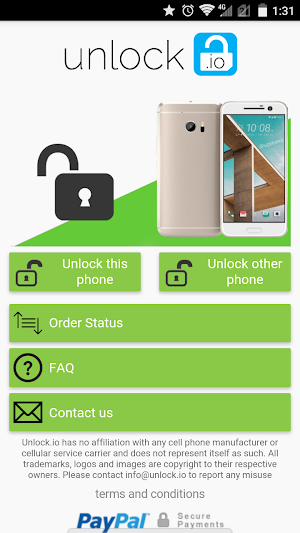 SIM Unlock for HTC phones 2 1 APK Download - Android Tools Apps