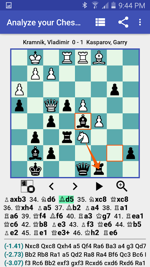 Analyze your Chess Pro - PGN Viewer 1 6 8 APK Download - Android
