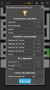 Crosswords - Spanish version (Crucigramas) 1.1.8 screenshot 15