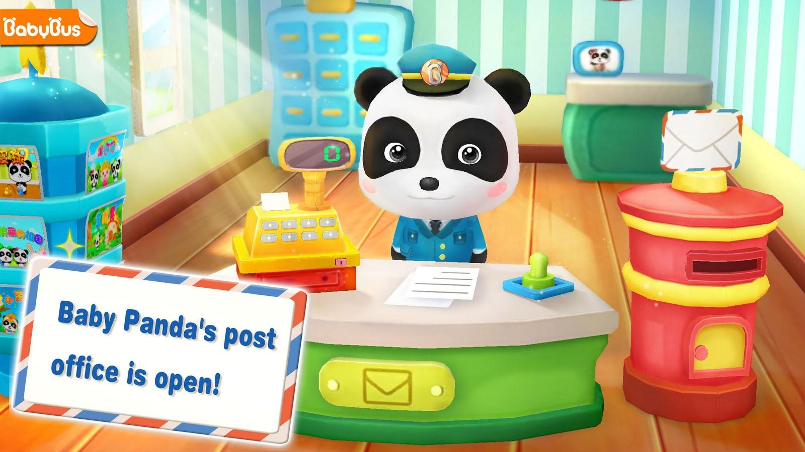 Baby Panda Postman-Magical Jigsaw Puzzles 8 24 10 00 APK