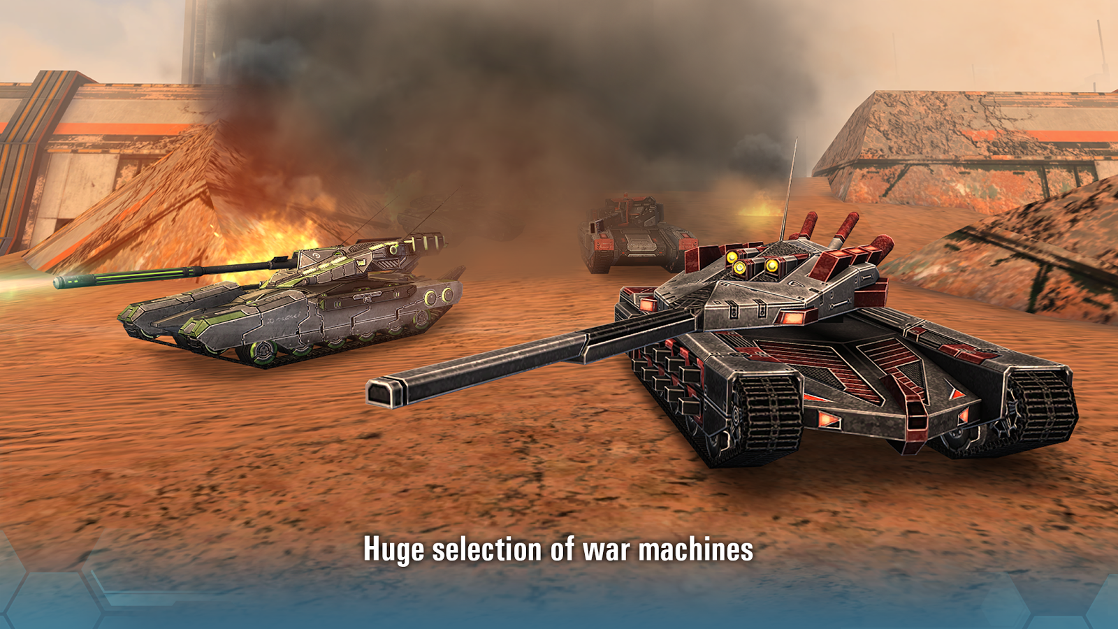 Future Tanks Free Multiplayer Tank Shooting Games 257 Screenshot 7