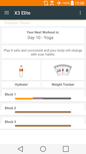 X3 Elite 1 44 APK Download - Android Health & Fitness Apps