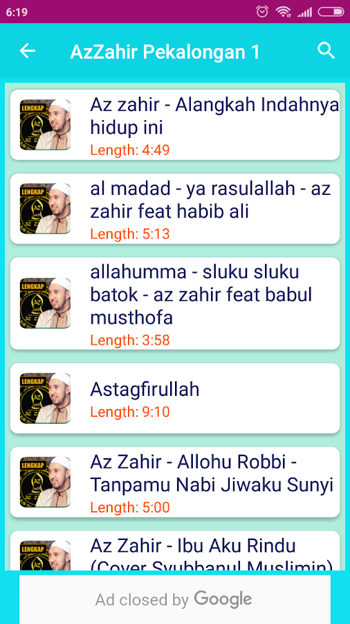 Az-Zahir Hadroh Sholawat 3 3 APK Download - Android Music & Audio Apps