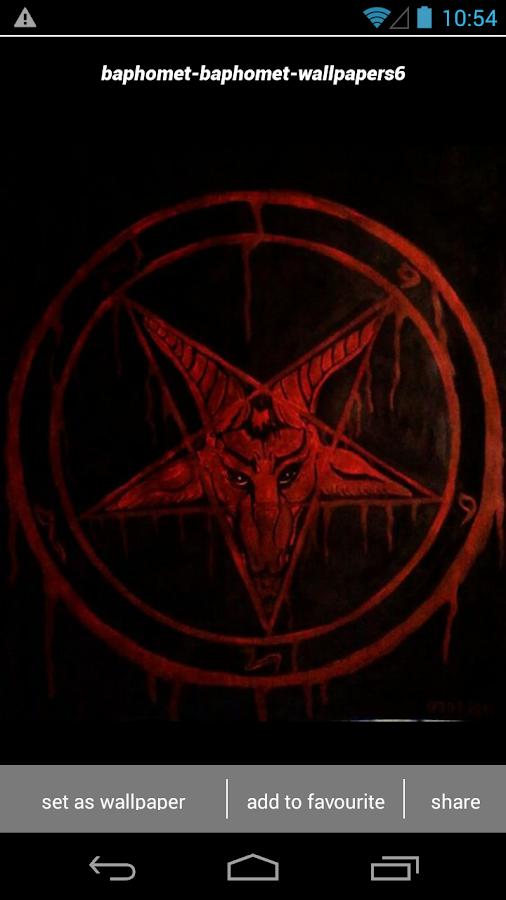 Baphomet Satanic Wallpapers HD 22 Screenshot 3