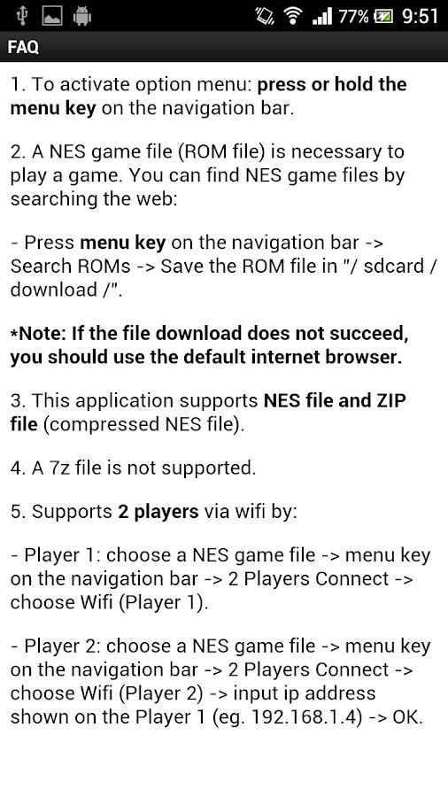 2P NES Emulator 4 0 APK Download - Android Arcade Games