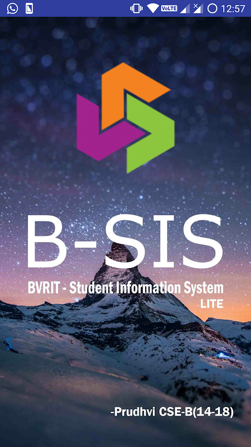 BVRIT SIS Full 2 0 APK Download - Android Education Apps