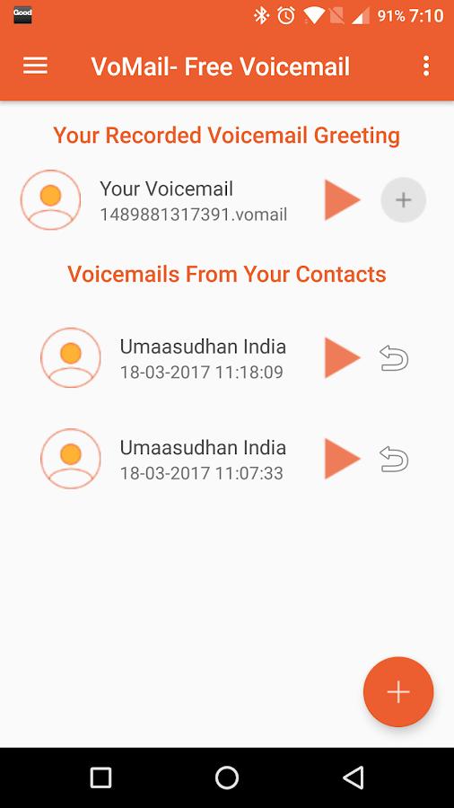 Vomail free video voicemail 1129 apk download android vomail free video voicemail 1129 screenshot 1 m4hsunfo